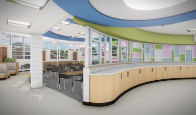 Heartspring - Cafeteria remodel 2